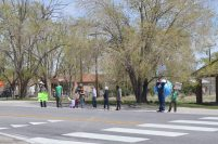 Baker, NV Earth Day March