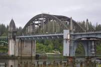 Bridge along the Oregon coast