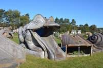 Fast Corporation Fiberglass Graveyard, Sparta, WI