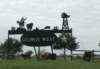 George West, TX Town Entrance