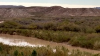 Rio Grande River between US & Mexico