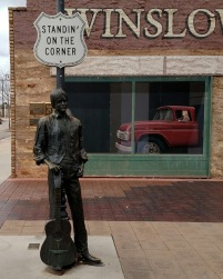 Standin' on the Corner, Holbrook, AZ